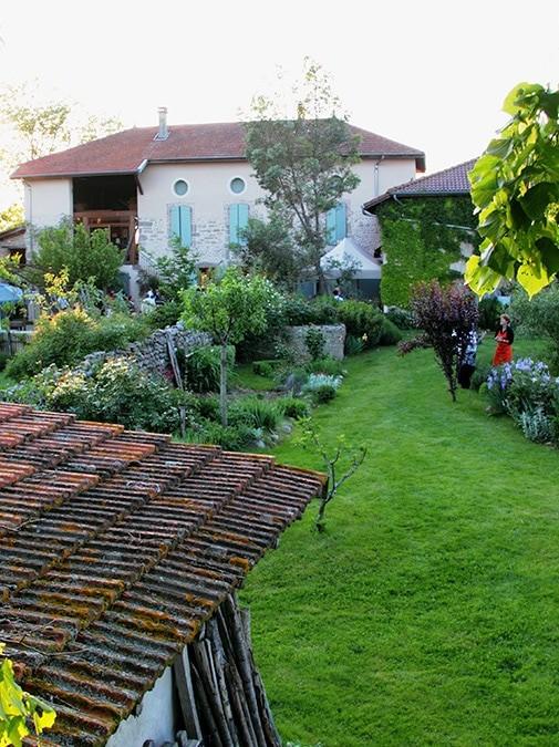 La Ferme des Essarts, jardin