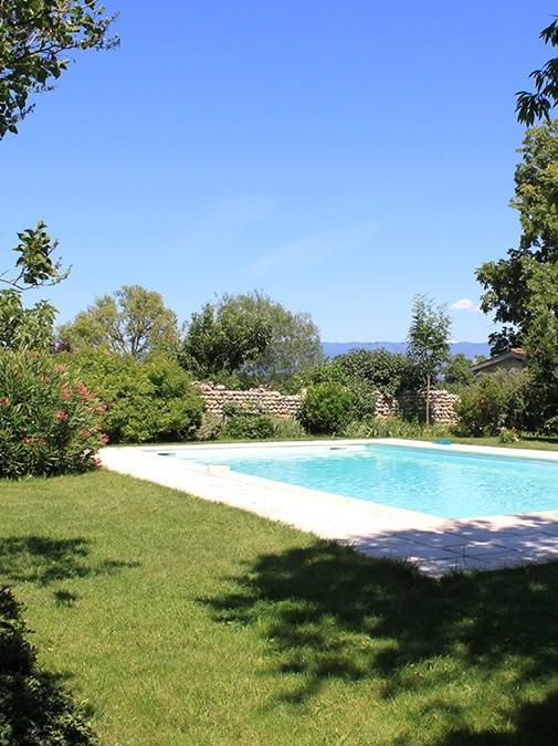 La piscine de la Ferme des Essarts